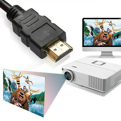 50CM HDMI Cable 0.5M Short HDMI Lead v1.4 3D Video Cable for Switch Splitters