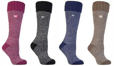 Ladies Thermal Wellington Boot Heat Holders Socks UK 4-8, EUR 37-42 See Listing