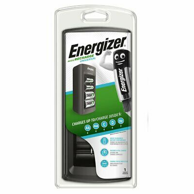 Energizer UNIVERSAL Charger for AA AAA C D 9V NiMH rechargeable batteries EUplug