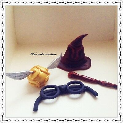 HARRY POTTER Themed  edible cake toppers Birthday Wedding Christening