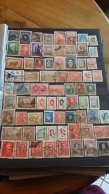 70 timbres Argentine (lot 1)