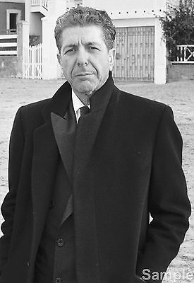 Leonard Cohen Canadian Singer Poet Glossy Music Photo Print Picture A4