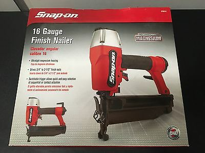 Snap-On 16 Gauge Finish Nailer 870014 Brand New