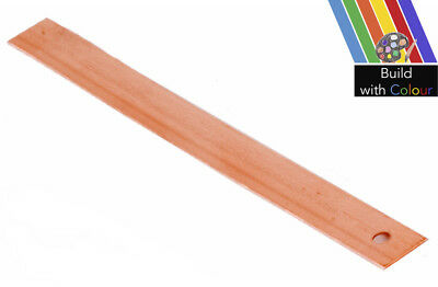 0.7 x 150mm Copper Tingles Roofing Slate Straps Roof Repair Stone Strip Packs