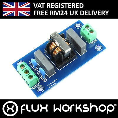 LC Technology 220V AC EMI Filter Module LC-Power Noise Mains Flux Workshop
