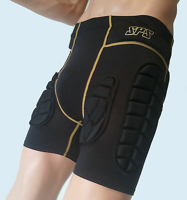 Impact Shorts by SPS body armour MMA Skiing snowboarding rugby ski crash skate