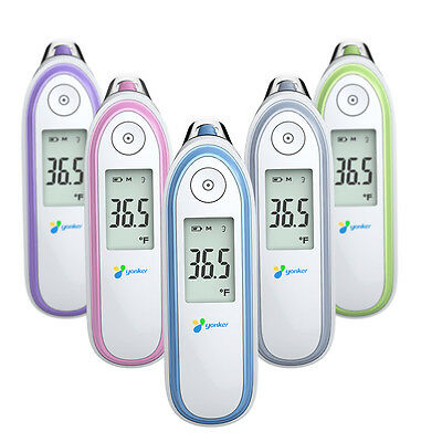 LCD Infrared Thermometer Digital Thermometer Fever Forehead Ear Thermometer