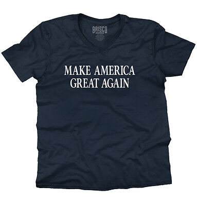 Make America Great President Donald Trump Vote Cool Shirt USA V-Neck T Shirt