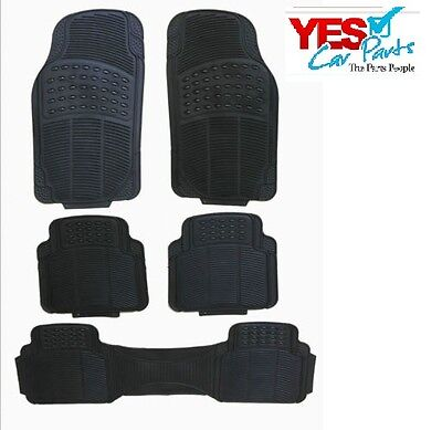 Rover City Ranger 03-05 Heavy Duty Rubber Floor Mats 5 Piece