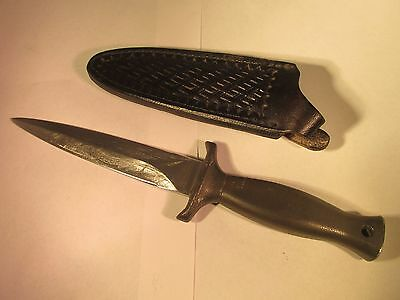 Vtg Frost Cutlery Mississippi Gambler Mk1 Boot/fighting Knife W/original Sheath