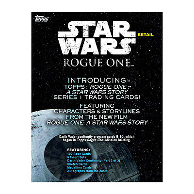 2016 Topps Star Wars Rogue One 10ct Blaster 16-Box Case