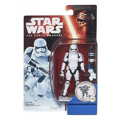 """star wars the force awakens - 3/75"""" first order stormtrooper"""