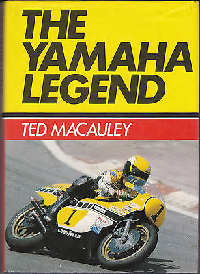 Motorcycle book the Yamaha legend Ted Macauley 1979