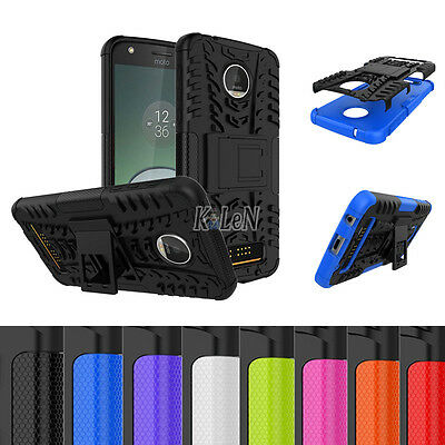 For Motorola Moto Z Play/Moto Z Play Droid Case Armor Shockproof Kickstand Cover