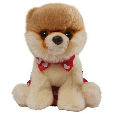 NEW OFFICIAL GUND Boo The World's Cutest Dog Bowtie & Boxers Itty Plush 4044046