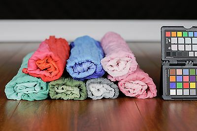 Buy3 get Free Shipping Newborn Baby Gradien Wraps Cotton Cloth Photography Props