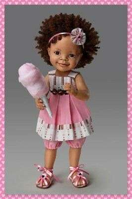 Child doll ''SUGAR AND SPICE'' by Jane Bradbury