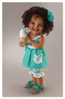 ASHTON DRAKE - Child doll ''GIGGLES AND CURLS'' by Jane Bradbury