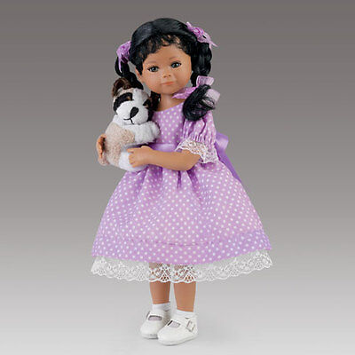 Ashton Drake-Child Doll''kimani And Her Puppy'' My Forever Friend By Mayra Garza