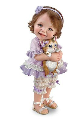 Child doll ''WELCOME HOME, KITTY'' by Jane Bradbury