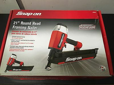 Snap-On 21 Round Head Framing  Nailer 870010 Brand New