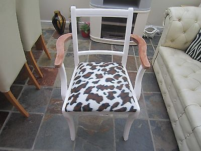 shabby chic hall or bedroom chair