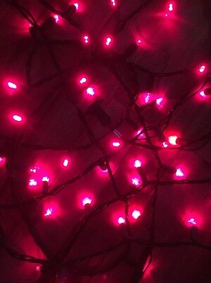 red mini dome led christmas lights 60