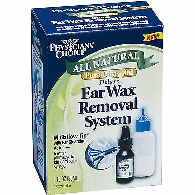 Physician's Choice All Natural Deluxe Ear Wax Removal System