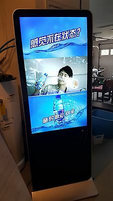 LCD Digital Billboard Advertising clear video and audio