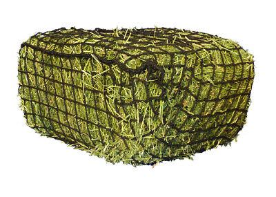 Hay net Greedy Steed Premium Knotless Haynet 4cm horse pony float HALF bale