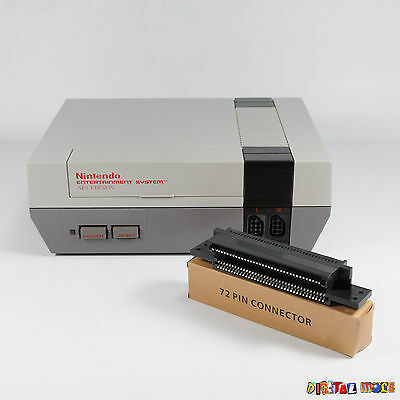 NEW Nintendo NES 72 Pin Connector Replacement Fix Red Light Game Loading Issues
