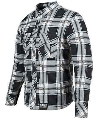 Speed And Strength Ss Mens Black Gray Rust Redemption Armored Moto Shirt L Xl 3X