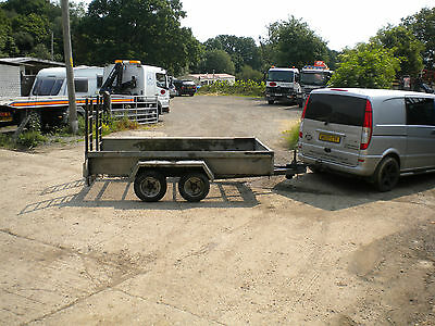 Indespension Challenger 10' x 5' plant trailer ... twin axle 2500kg
