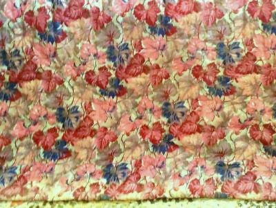 """Vintage 1930s Fabric Whole Cloth Quilt Never Laundered Or Used 69"""" x 77"""""""