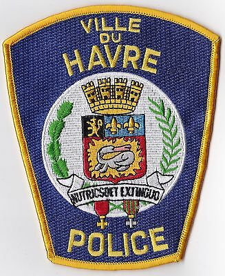 Ville Du Havre Police Patch Montana MT NEW!!