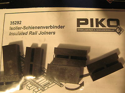 Piko 35292 Insulated Rail Joiners, G scale