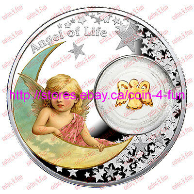 2016 - Niue - Angel of Life - $1 Fine Silver Coin - Mintage:1500
