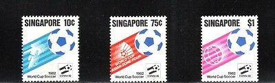 Singapore 1982 World Cup Football Championships Spain SG 424/6 MUH