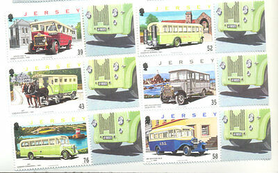 Jersey Buses Vintage vehicles mnh 2008
