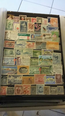 56 timbres Philippines (lot 3)