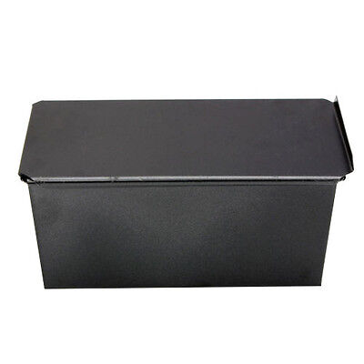 10S8 Rectangle Bakeware Nonstick Box Large Loaf Tin Kitchen Pastry Bread Cake Ba