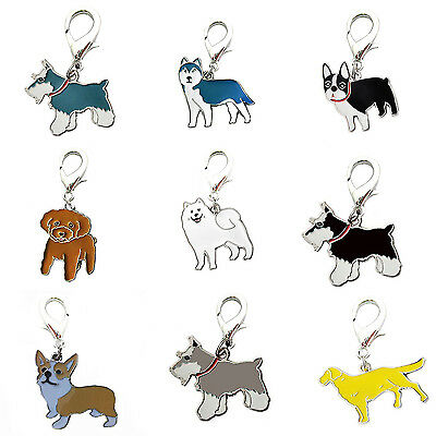 High Cute Dog Tag Disc Disk Pet ID Enamel Accessories Collar Necklace Pendant