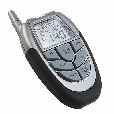 10S8 Wireless Digital BBQ Thermometer Tester with Probe Thermometer and Remote
