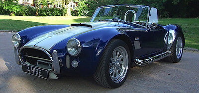 AC Cobra HIRE not for sale - Wedding Car, Birthday Surprise, Weekend Away
