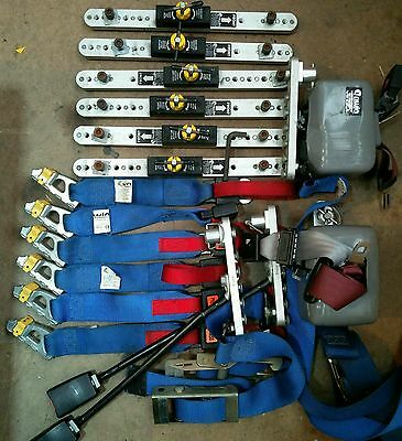 Unwin Seat Belt and various expensive fittings To Fit In Unwin Track ..
