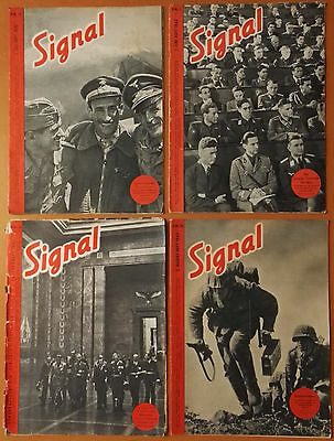 100% Original German Magazines Of War - Set Of 4 Magazines - Great Condition