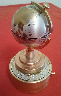 Antique Music Box – Earth Movement / lighter Brass - Portugal - Circa 1960/70
