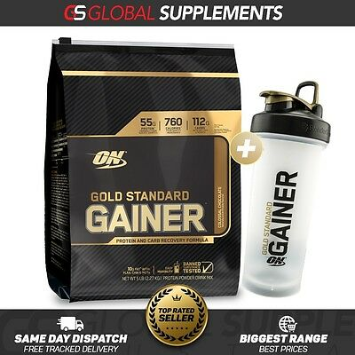 Optimum Nutrition Gold Standard Gainer Protein 5Lb Lean Mass Gainer