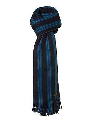 Ted Baker Multistripe Blue Scarf - Brand New With Tags