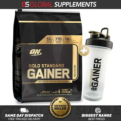 Optimum Nutrition Gold Standard Gainer Protein 10Lb Lean Mass Gainer